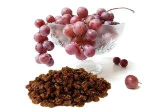 grapes raisins